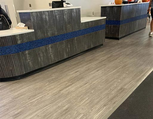 Defined Fitness Albuquerque project by New Mexico Flooring Solutions - Albuquerque, New Mexico