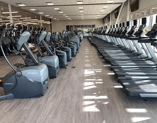 Defined Fitness Rio project by New Mexico Flooring Solutions - Albuquerque, New Mexico