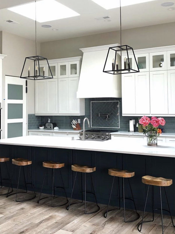 Residential kitchen project completed by New Mexico Flooring Solutions - Albuquerque, New Mexico